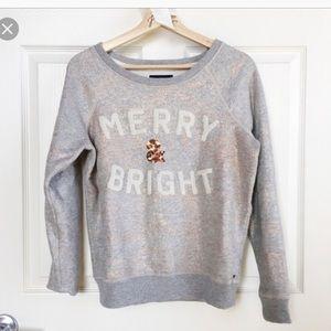 NWOT American Eagle Merry & Bright Sweatshirt